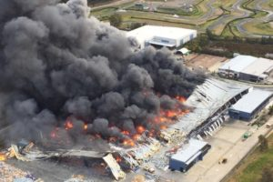 Business interruption due to factory fire at supplier. How would you cope?